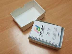 recyclable business card box