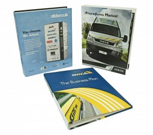 Printed Binder Paragon Print and Marketing Solutions